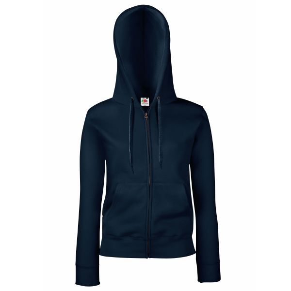 Premium Hooded Sweat Jacket Lady-Fit Fruit of the Loom 62-118-0