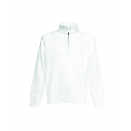 Zip Neck Raglansweat Fruit of the Loom 62-032-0