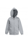 Classic Hooded Sweat Jacket Kids Fruit of the Loom 62-045-0