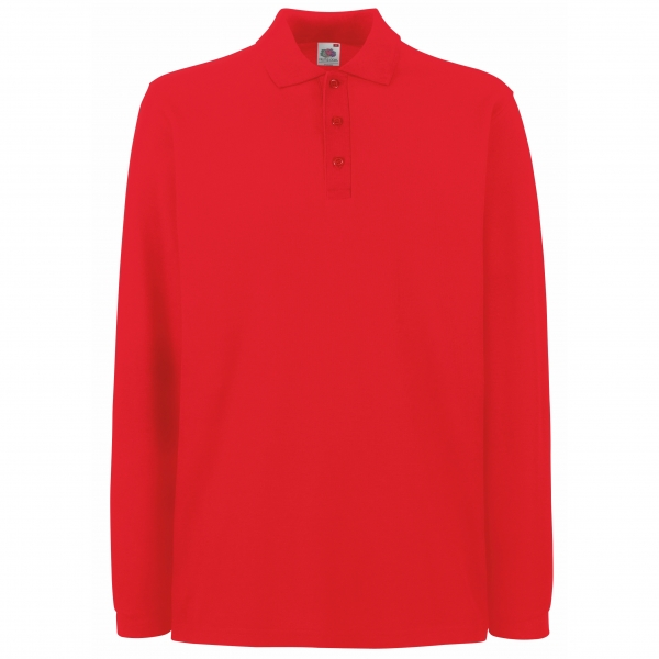 Premium Long Sleeve Polo Fruit of the Loom 63-310-0