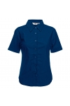 Oxford Shirt Short Sleeve Lady-Fit Fruit of the Loom 65-000-0