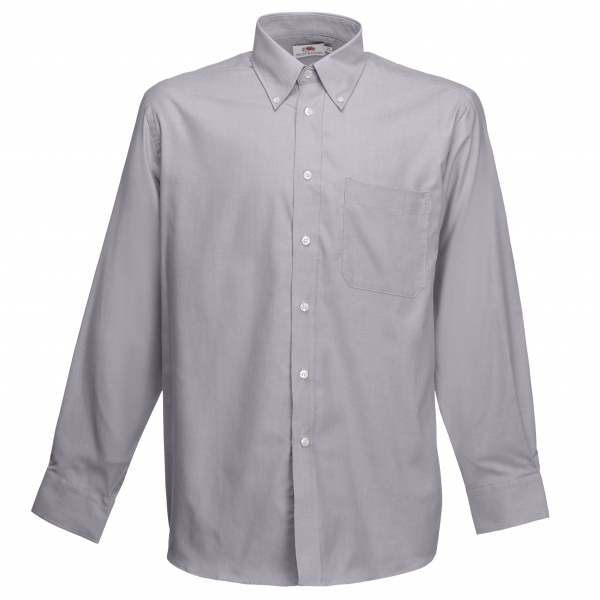 Oxford Shirt Long Sleeve Fruit of the Loom 65-114-0
