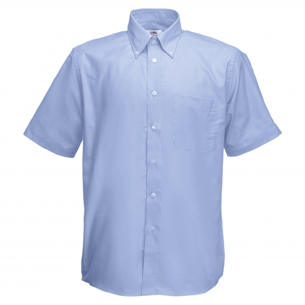 Oxford Shirt Short Sleeve Fruit of the Loom 65-112-0
