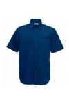 Poplin Shirt Short Sleeve Fruit of the Loom 65-116-0