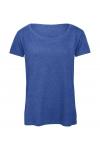 T-shirt femme col rond en Triblend B&C TW056