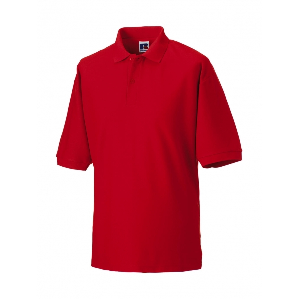Polo 65/35 Polyester Coton Russell R-539M-0