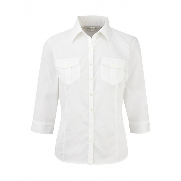 Chemise Femme Style Baroudeur Manches 3/4 Russell R-918F-0