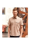 Chemise Manches Courtes Style Baroudeur Russell R-919M-0