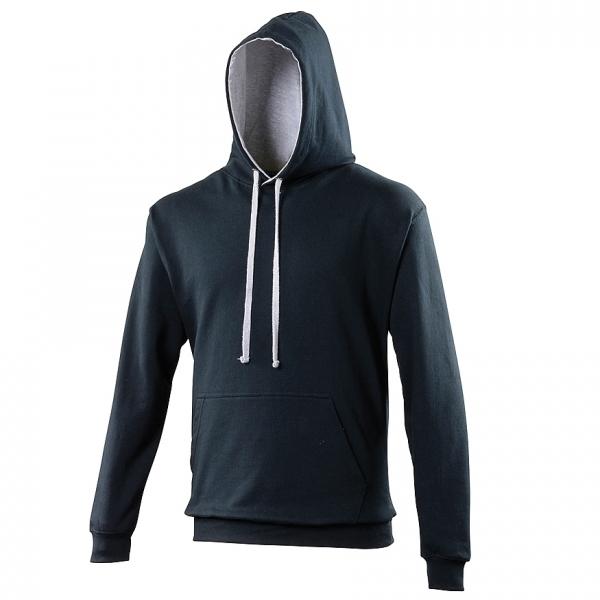 Sweat-shirt à capuche bicolore Varsity AWDis JH003