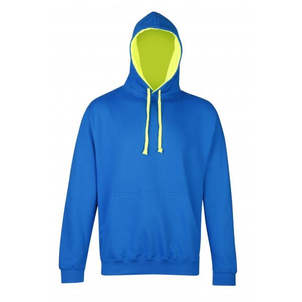 Sweat-shirt à capuche Superbright AWDis JH013