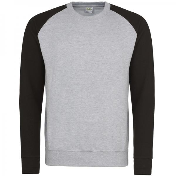 Sweat-shirt Baseball AWDis JH033