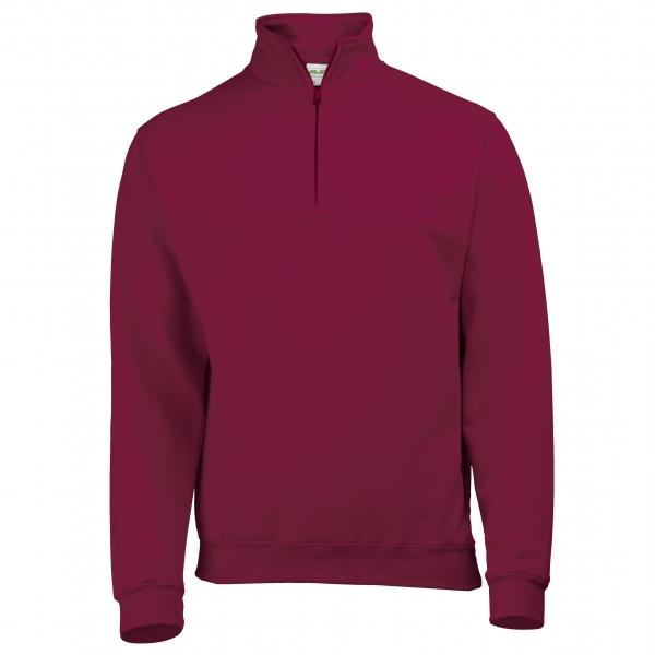 Sweat-shirt col camionneur1/4 zip Sophomore AWDis JH046