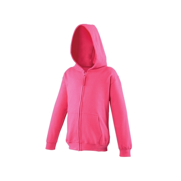 Sweat-shirt capuche zippé AWDis JH050