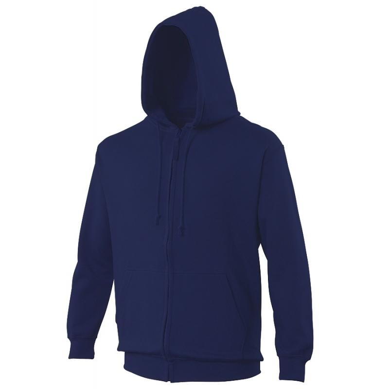 Sweat-shirt capuche zippé AWDis JH050