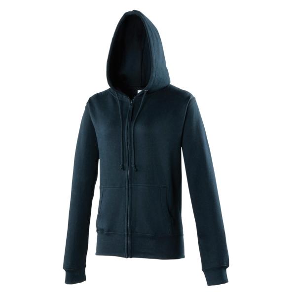 Sweat-shirt zippé Girlie AWDis JH055